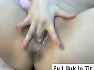 Super Wet Orgasm - 5 min