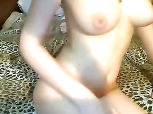 Brother and Sister having fun on webcam - more..