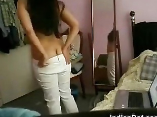 Cute Indian Girl Gets Naked In Her Room - 12 min