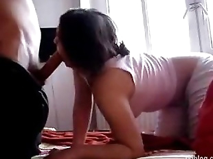 Beautiful nri desi couple sex on webcam - 13 min