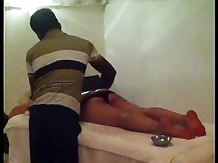 Sexy indian wife taking massage - 28 sec