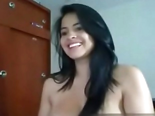 Indian cam girl with huge tits -..