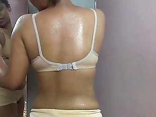 sweet indian babe sex lily after workout..