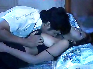 Indian Couple Hot Adult Movie Kissing Scene - 2..